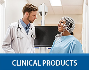 clinical products button