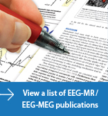 See a list of EEG-MR and EEG-MEG publications